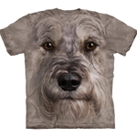 Miniature Schnauzer Face Adult T-Shirt 43-1033680