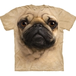 Pug Face Adult T-Shirt 43-1033690