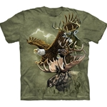 North American Totem Adult T-Shirt 43-1033720