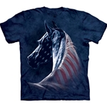 Patriotic Horse Adult T-Shirt 43-1033810