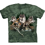 Find 12 Wolves Adult T-Shirt 43-1034480