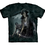 Zombie Captain Adult T-Shirt 43-1034550