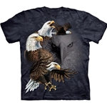 Find 10 Eagles Adult T-Shirt 43-1034600