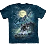 Wolf Night Symphony Adult T-Shirt 43-1034780