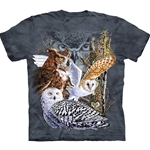 Find 11 Owls Adult T-Shirt 43-1034850