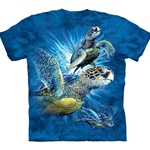 Find 9 Sea Turtles Adult T-Shirt 43-1035150