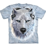 White Wolf DJ Adult T-Shirt 43-1035180