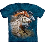 Find 13 Horses Adult T-Shirt 43-1035380