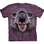 Koala Face Adult T-Shirt 43-1035510