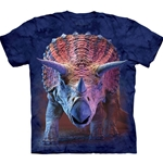 Charging Triceratops Adult T-Shirt 43-1035620