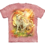 Mother and Baby Unicorn Adult T-Shirt 43-1035660