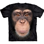 Chimp Face Adult T-Shirt 43-1035720