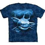 Shark Moon Eyes Adult T-Shirt 43-1035800