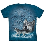 Celtic Wolf Adult T-Shirt 43-1035930