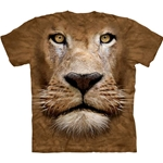 Lion Face Adult 2X-Large T-Shirt