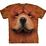 Chow Chow Face Adult T-Shirt 43-1036090