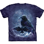 Celtic Raven Adult T-Shirt