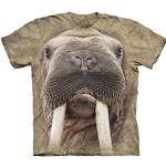 Walrus Face Adult T-Shirt 43-1036130