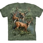 Deer Collage Adult 2X-Large T-Shirt