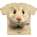 Hamster Face Adult 2X-Large T-Shirt