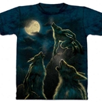 3 Werewolf Moon Adult T-Shirt 43-1062341