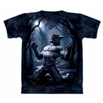 Transformation Werewolf Adult Plus Size T-Shirt
