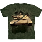 M1 Abrams Tank Breakthru Adult T-Shirt
