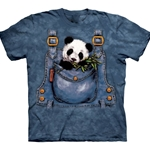 Panda in Overalls Youth's T-Shirt 43-1510590