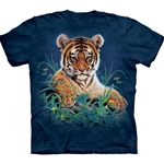 Tiger Cub in Grass Youth's T-Shirt 43-1510940