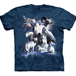 Arctic Animals Youth's Tee Shirt 43-1511330