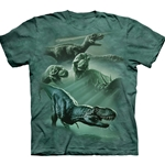 Dinosaur Collage Youth's T-Shirt 43-1513470