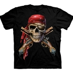 Skull and Cross Muskets Youth's Tee Shirt 43-1515620