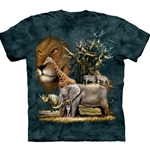 African Collage Youth's Tee Shirt 43-1530620
