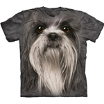 Shih Tsu Face Youth's T-Shirt 43-1533310