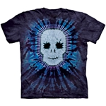 Tie-Dye Skull Youth's Tee Shirt 43-1533800