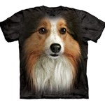 Sheltie Face Youth T-Shirt