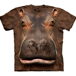 Hippo Head Youth's T-Shirt 43-1533840