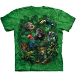 Jungle Friends Youth's Tee Shirt