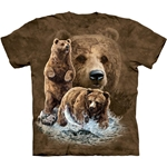 Find 10 Brown Bears Youth's Tee Shirt 43-1534820