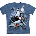 Find 10 Puffins Youth's Tee Shirt