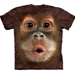 Big Face Baby Orangutan Youth's Tee Shirt 43-1535870