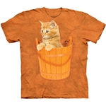 Bucket Kitten Youth's Tee Shirt 43-1581690
