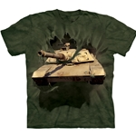 M1 Abrams Tank Breakthru Youth's Tee Shirt 43-1582610