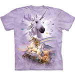 Double Rainbow Unicorn Youth's Tee Shirt 43-1582690