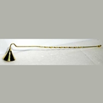 Spiral Handle Brass Candle Snuffer 45-CSBRAR