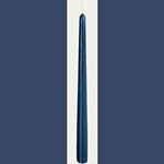 Ten Inch Tall Dark Blue Taper Candle 45-CT10DB