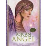 Ask an Angel Oracle (deck and book) 45-DASKANG