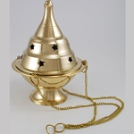 Medium Hanging Brass Censer 45-IB117