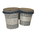 Egyptian Pretuned Mosaic Bongos 6-Inch and 7-Inch