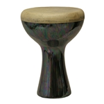 Finger Ceramic Doumbek - Black